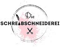 Dies ist das Logo der SCHREIBSCHNEIDEREI und steht für: Copywriting, Webtexte, Werbetexte, Aufbau einer Social Media Präsenz, Korrekturlesen und Lektorat.